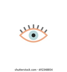 Eye Icon Vector Isolated
