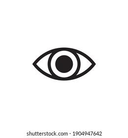 eye lens icon vector symbol illustration