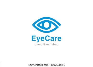 Eye Logo and Icon Template