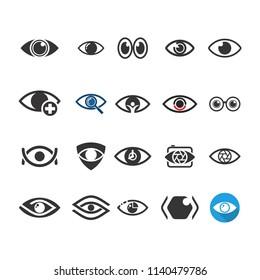 Eye Logo. Optical Icon. See symbol. vector eps 08.