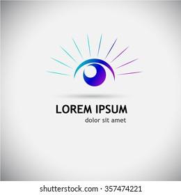eye Logo. Vector