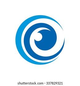 eye logo vector. eye icon.