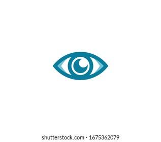 Eye logo vision research symbol