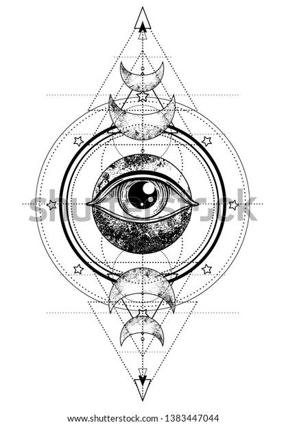 Auge bedeutung dreieck tattoo Augen Tattoo