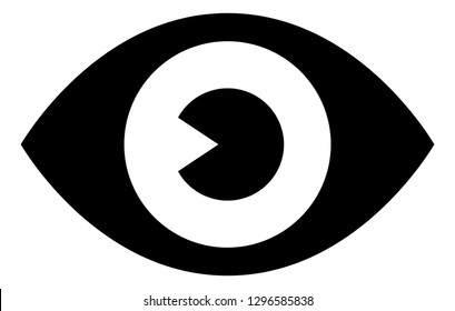 Eye See Watch Vector Icon