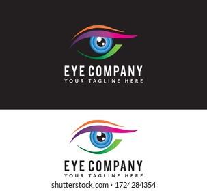 Eye Sun-glass and Hospitality Company Logos