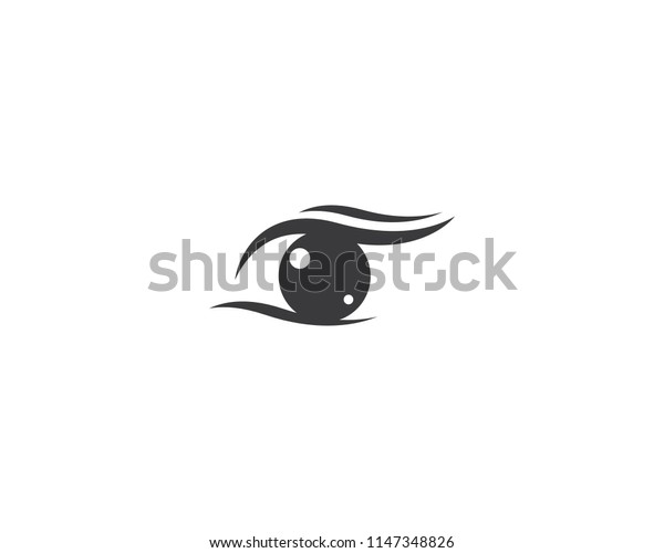 Eye symbol illustration