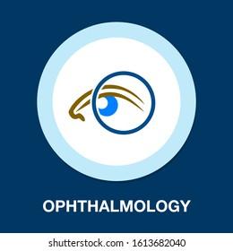 Eye Symbol Vector Design. Colorful Template Business Logo Concept. Digital Vision Icon