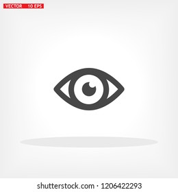 Eye Vector icon