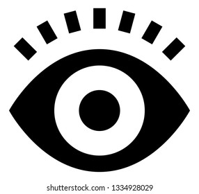 Eye Vision Look See Vector Icon