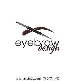 Eyebrow Logo Images, Stock Photos & Vectors   Shutterstock