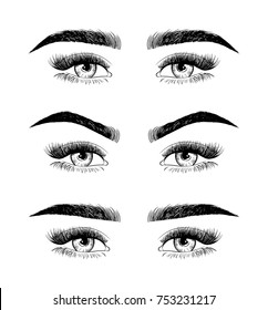 Eyebrow Shaping Images, Stock Photos & Vectors | Shutterstock