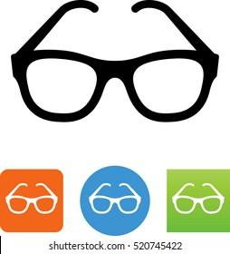 Eyeglasses icon.