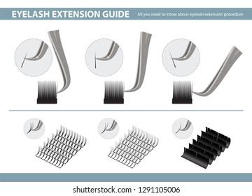 Eyelash Extension Supplies Images, Stock Photos & Vectors