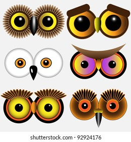 cartoon owl eyes images stock photos vectors shutterstock rh shutterstock com Printable Owl Eyes cartoon owl eyes cute