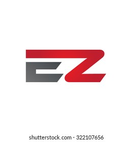 EZ company linked letter logo