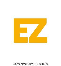 ez initial logo design