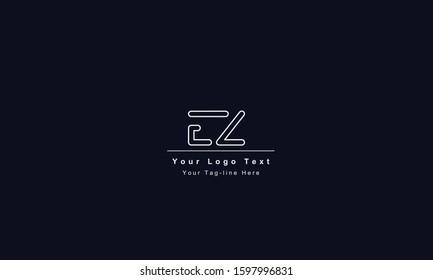 EZ ZE letter logo. Unique attractive creative modern initial EZ ZE E Z initial based letter icon logo
