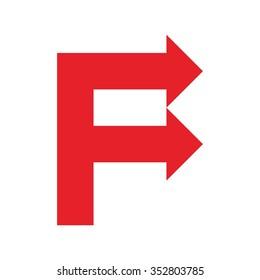 f arrow logo.