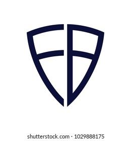F B I Logo design template, Shield logo design