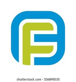 f and b logotype. logo vector.