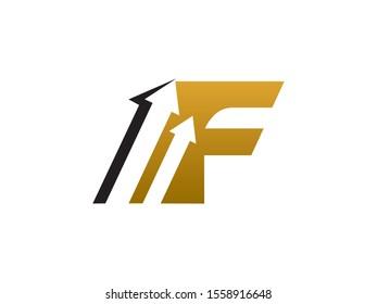 F Letter logo or symbol template