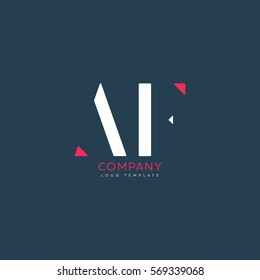 A F logo design for Corporate