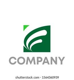 F logo vector design template icon shape
