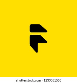 F Monogram/ F icon/ initial F arrow logo design inspiration