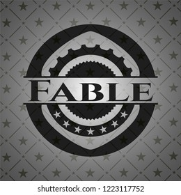 Fable dark emblem. Retro