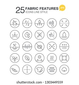 Fabric features Icons