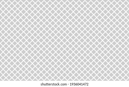 fabric modern minimal pattern background. geometric diamond tile minimal pattern. seamless texture.  Squares Diagonal rectangular, rectangle grid, mesh graph paper pattern. 45 degree draft