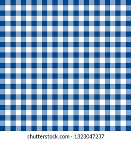 Fabric pattern. Tablecloth style texture. Сheckered background
