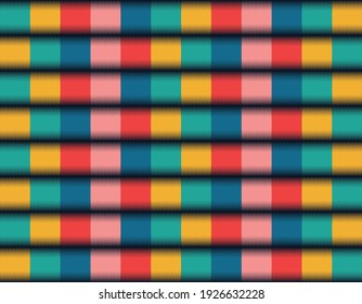 Fabric pattern textile, Geometric line seamless pattern design