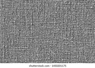Fabric texture. Cloth knitted, cotton, wool background. Vector background. Grunge rough dirty background.Distress used texture.canvas