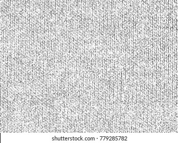 Fabric texture. Cloth knitted, cotton, wool background.  Vector background.