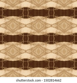 Fabric woven textile texture seamless pattern. Distressed brown, beige ecru neutral tone. All over print for modern home decor, trendy homespun fashion, wallpaper. Vector swatch repeat.