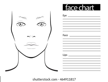 photograph about Printable Face Charts titled Encounter Chart Photographs, Inventory Shots Vectors Shutterstock