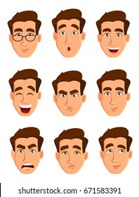 face-expressions-man-different-male-260n