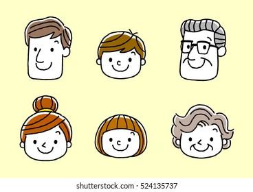Face, Facial expression: Smiling face