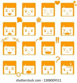 face icon set