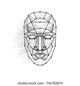Face Recognition Vector Illustration