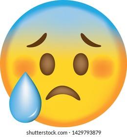 face sad emoji cute emoticon 260nw 1429793879