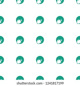 facepalm pattern repeat seamless on white background. Editable filled facepalm icons from emotions collection. facepalm emot icon for web and mobile.