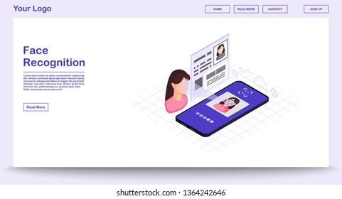 Ilustraciones, imágenes y vectores de stock sobre 3d Face Id