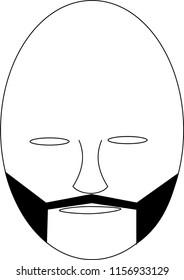 Facial Hair Graphics