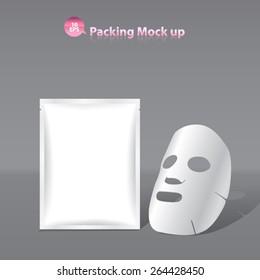 Facial Mask Cosmetics Packaging