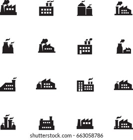 Factories icons