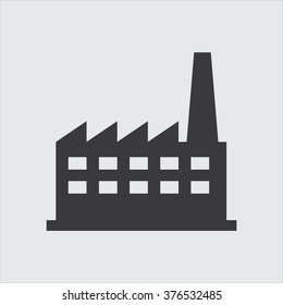 Factory icon . Vector illustration