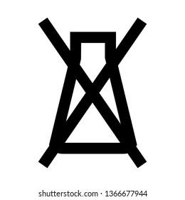 Failed, Trial Failed, No Experiment, Laboratory, Outline Style Icon Vector - Vector